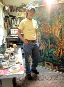 Mark in the Studio